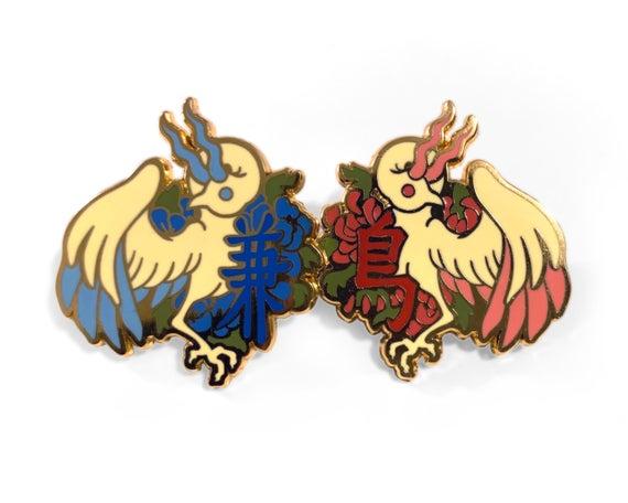 l'oiseau qui partage des ailes