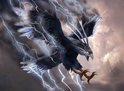 Un Thunderbird grande y fuerte