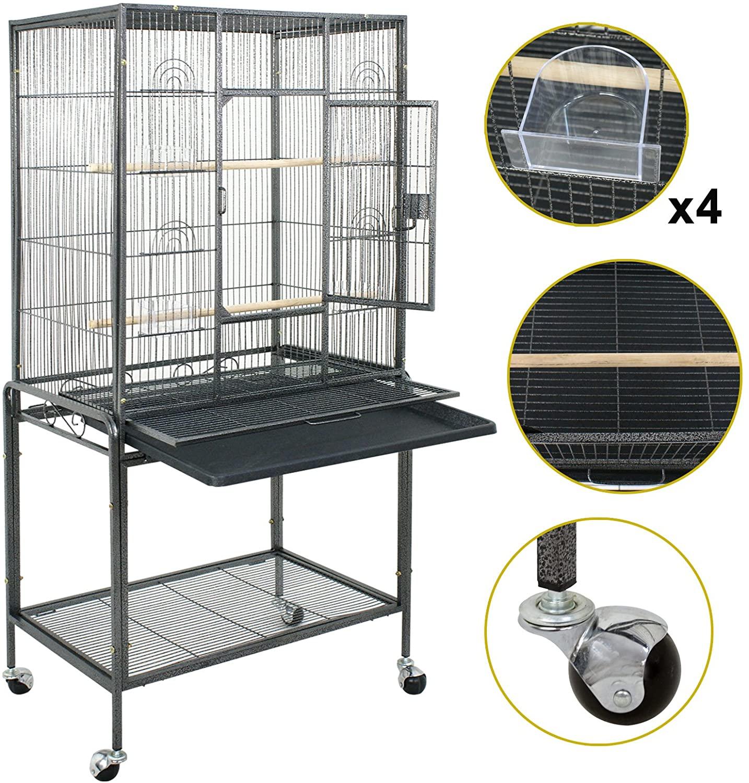 81LCg5ysmdL. AC SL1500 5 Best Cockatiel Cages That Make Your Parakeet Happier